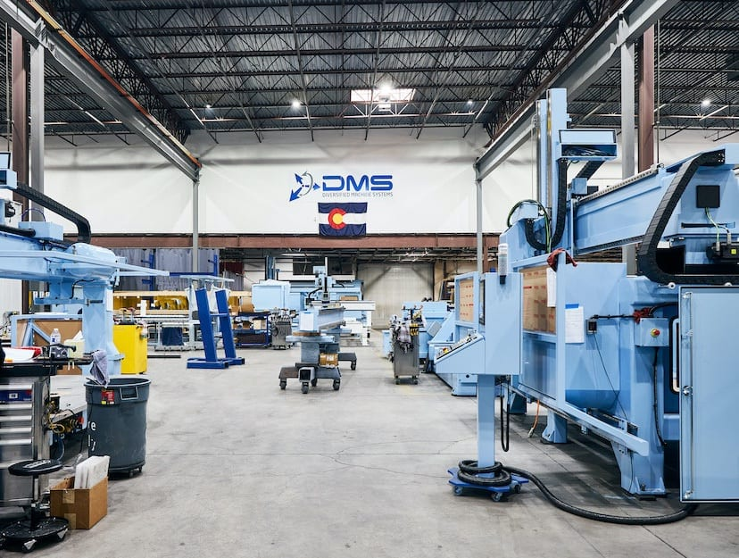 diversified machine systems warehouse